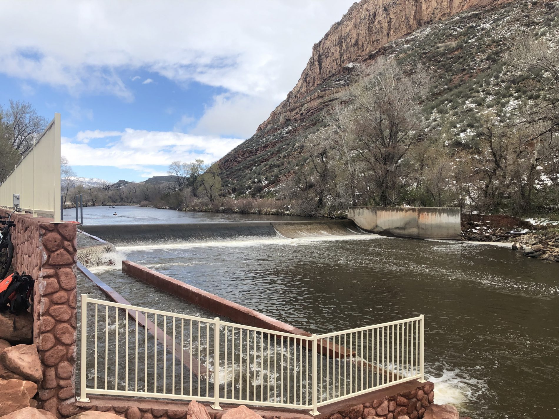 Poudre River Fish Ladder at Watson Lake